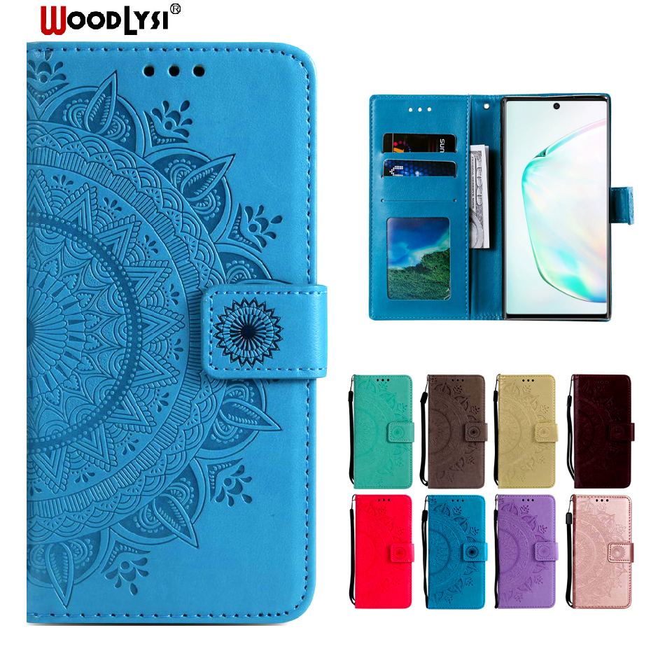 Note 10 Flip Case for Samsung Galaxy Note 10 Phone Cover PU Leather Case On For Samsung Galaxy Note 10 Pro Wallet Case