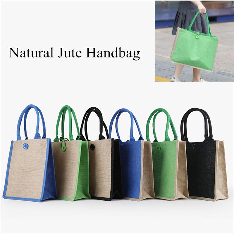 Women Linen Luxury Tote Large Capacity Female Casual Shoulder Bag Beach Shopping Bag Bags For Women 2019 Bolso Mujer