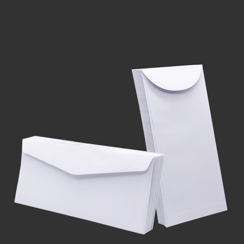 White Envelope Blank Stationary Ordinary Paper Business School Gift Mini Window Envelope For Invitations And Cards 100pcs/lot