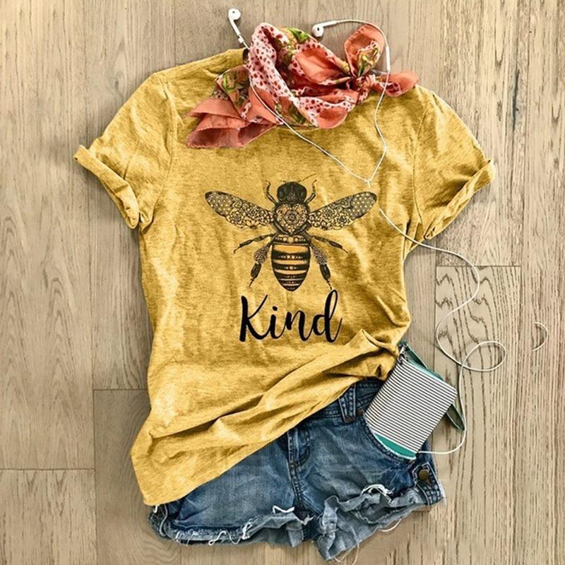Купить женская футболка с короткими рукавами модная мультяшным принтом