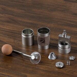 Image 2 - חדש 1zpresso Q2 אלומיניום סגסוגת נייד קפה מטחנת מיני קפה טחנת טחינת ליבה סופר ידנית קפה נושאות ממליץ