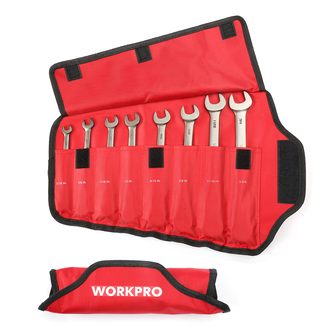 WORKPRO Wrench-Set Spanners-Set Combination Ratcheting Car-Repair-Tools Metric/sae Flex-Head