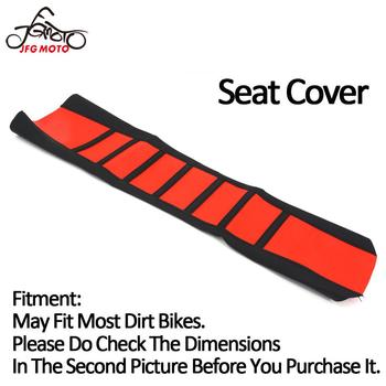Motorcycle Universal Pro Rubber Soft Seat Cover For Honda KTM KAWASAKI Suzuki Yamaha CR125 CRF150R CR250 CR250R CRF250R CRF450R image