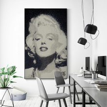 Famous Marilyn Monroe Canvas Painting Abstract Portrait Posters and Prints Wall Art Pictures for Living Room Cuadros Home Decor