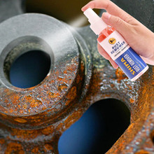 80 мл металлическая поверхность хромированная краска уход за автомобилем железный порошок для очистки от ржавчины быстрое очищение спрей уход за автомобилем Чистка
