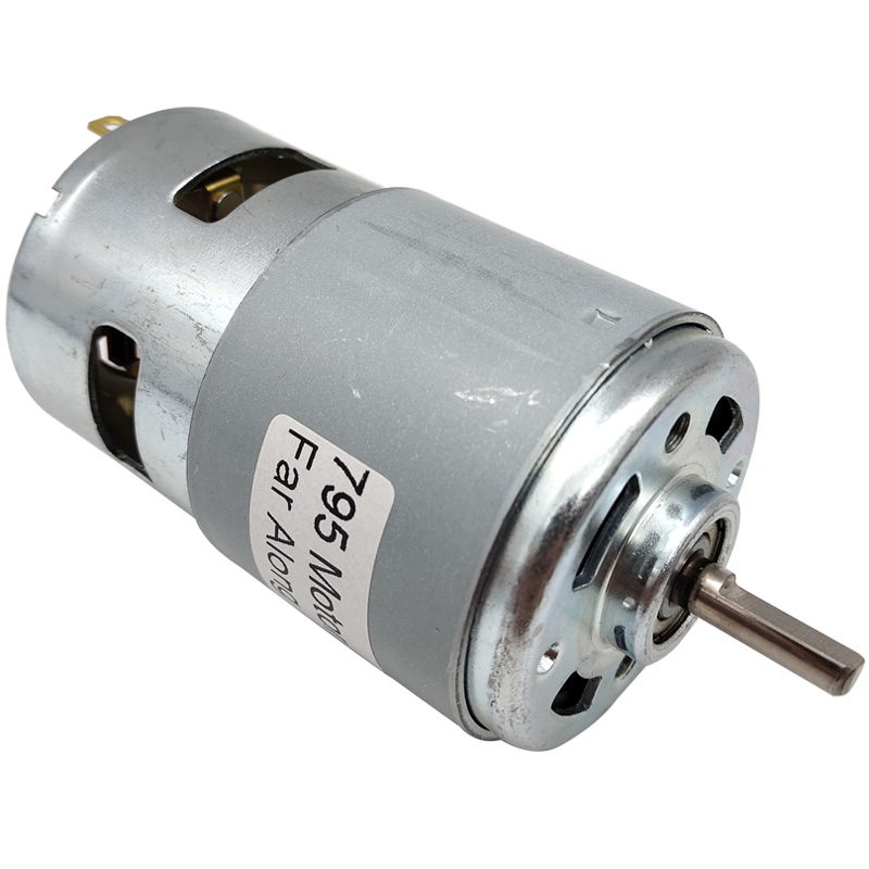 775 795 895 Powerful Electric Small High Speed DC Motors With Ball Bearings And Cooling Fan High Torque Micro Motor For Cutting