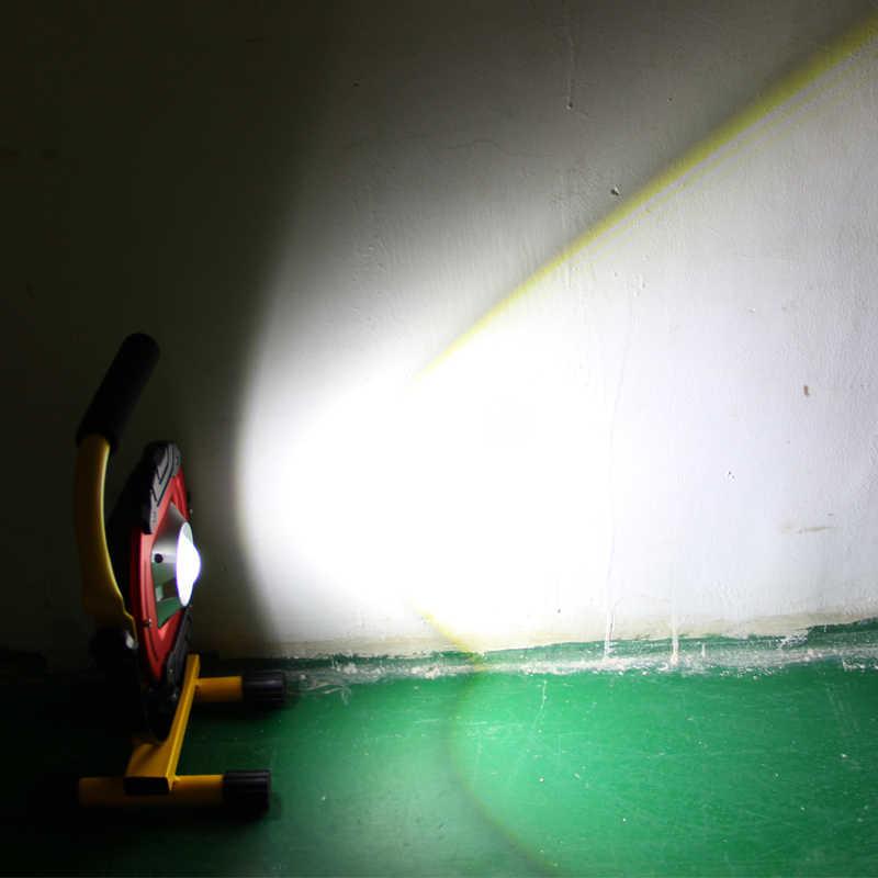 30W COB Led Nhà Xe Làm Việc Sửa Chữa Đèn Sạc Cắm Trại Di Động Lanterna Ngoài Trời Phong Cảnh Tặng Cảm + Tặng Cáp USB