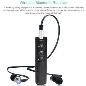 Image 5 - Bluetooth Receiver Car Bluetooth AUX 3.5mm Music Bluetooth Audio Receiver Handsfree Call Car Transmitter Auto Adapter
