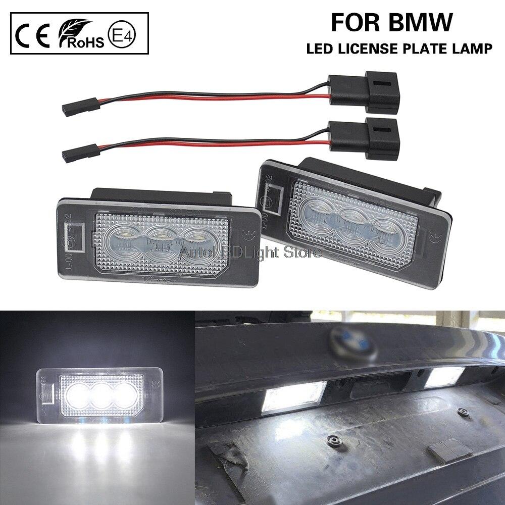 Светодиодный номерной знак светильник для BMW E70 E82 E84 F22 F23 F45 E46 E90 E91 E92 E93 F30 F31 F34 F32 F36 F33 E39 E60 E61 F10 F11 E88