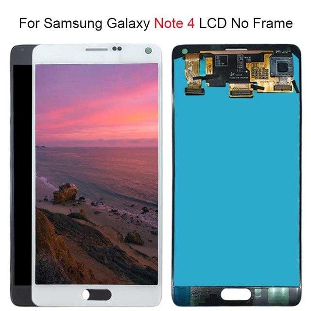 Dành Cho Samsung Galaxy Note 4 Note4 N910C N910 N910A N910F Màn Hình Hiển Thị LCD Bộ Số Hóa Cảm Ứng Thay Thế 100% Thử Nghiệm