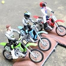 1/18 масштабная литая игрушка модель мотоцикла гонки с шарнирной куклой Сплав мотоцикл гоночный автомобиль сцена платформа песочный стол по...
