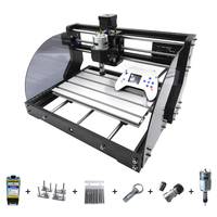 CNC 3018 Pro Max Laser Engraver CNC Wood Router 3 Axis PCB Milling DIY Laser Engraver Machine With Offline Controller 0.5W 15W