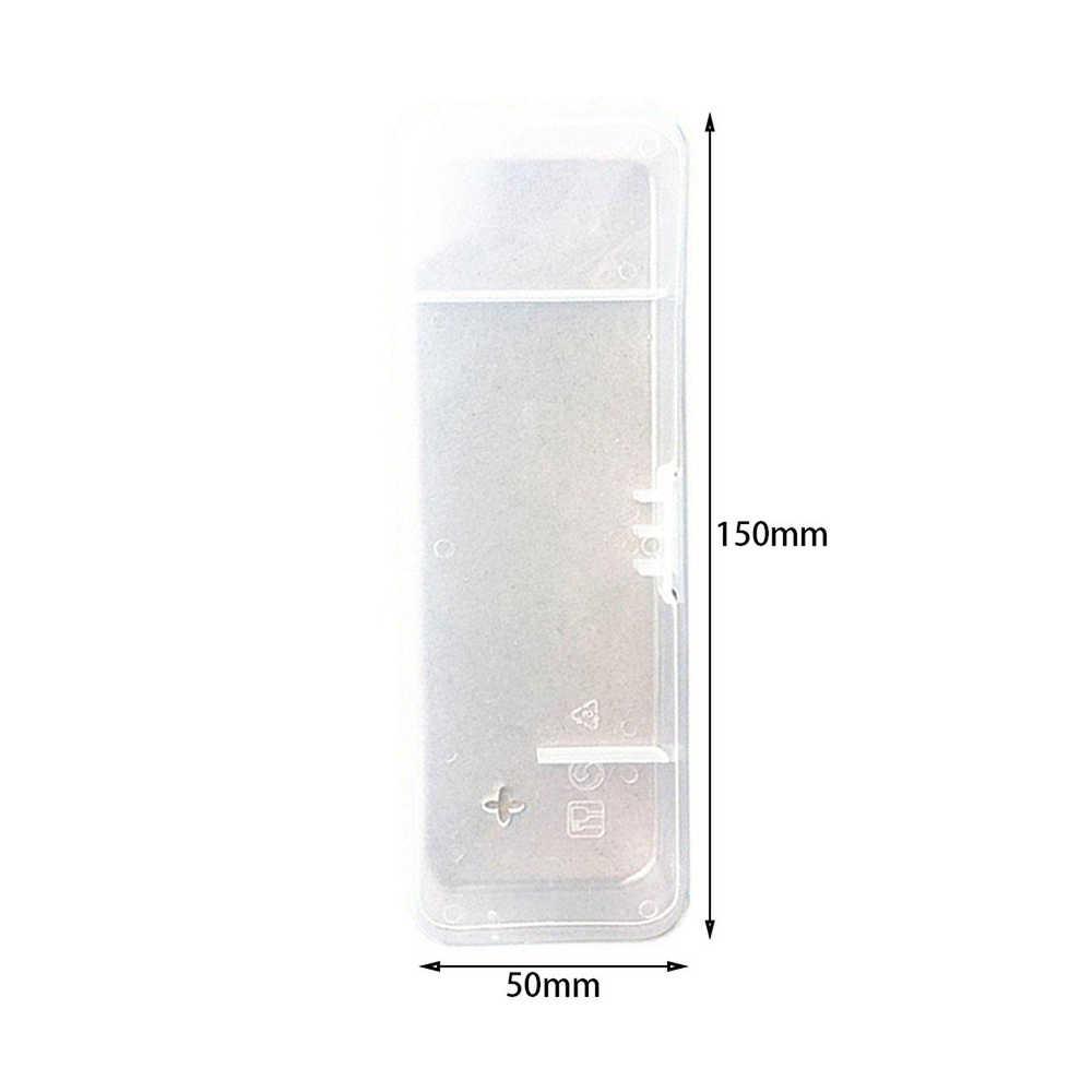 Портативный мужской ящик для бритья Бритва прозрачный пластиковый чехол для путешествий Универсальный держатель для инструментов ручная бритва хранение картриджей коробка поставка