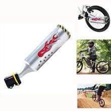 купить Bicycle Exhaust Sound System with 6 adjustable Turbo Motorcycle Sound,Childrens Motor Sound Bike Engine Cycling Accessory по цене 539.29 рублей