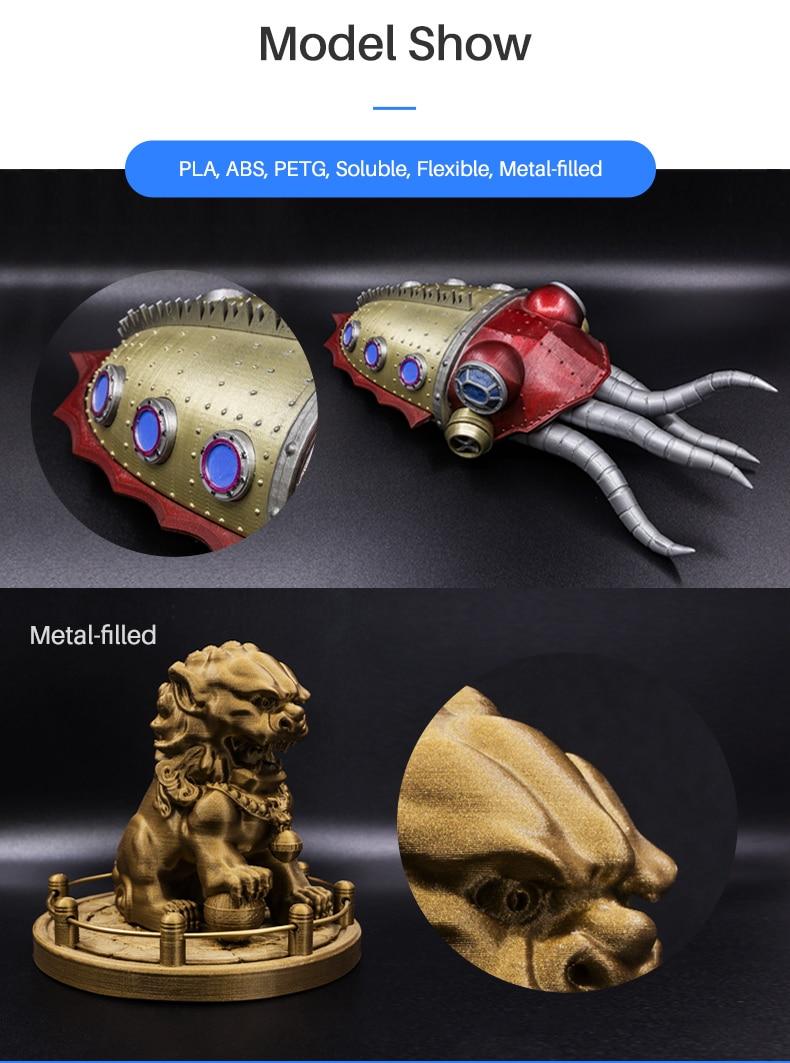 H1bd00ad20f8943d39ab461b54b76430dF Flashforge Adventurer 3 DIY 3D Printer
