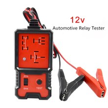 Universal New Automotive Relay Detection Battery Tester 12V Battery Checker Accu