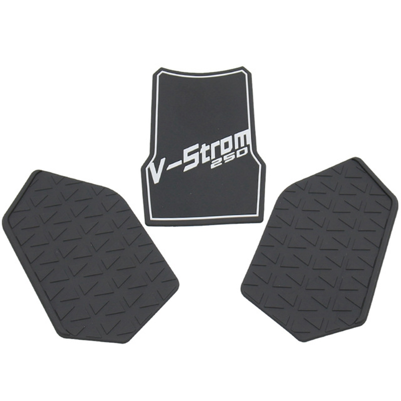 Motorcycle Protector Anti Slip Tank Pad Sticker Gas Knee Grip Traction Side Decal For Suzuki Dl250 V-Strom Dl250 V Strom