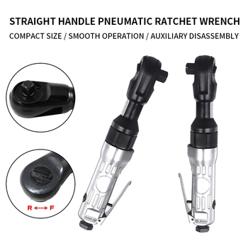цена на Air Pneumatic Wrench Industrial Grade Powerful Ratchet Spanner High Torque Small Wind Gun Power Tools 1/2 3/8 68N.M With Japan