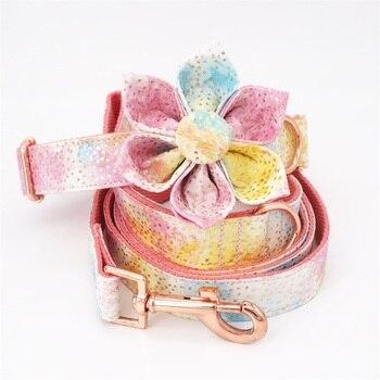 Collier multicolore à paillettes