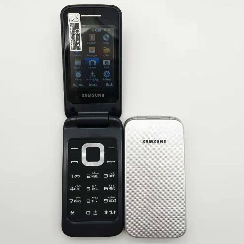 Фото. 100% первоначально разблокирована SAMSUNG C3520 мобильного телефона английская и русская клавиатура