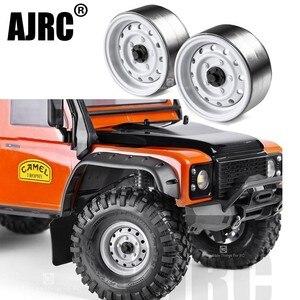 4 шт. Радиоуправляемый гусеничный металлический обод колеса 1,9 дюйма BEADLOCK для 1/10 Axial SCX10 90046 TAMIYA CC01 D90 D110 TF2 Traxxas TRX-4