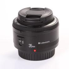 Yongnuo YN35mm F2 широкоугольный Автофокус AF объектив mf+ Крышка для камеры Canon EF EOS 500d 600d 120d 5d mark iii 6d 7d 60d 70d 1000d 1d
