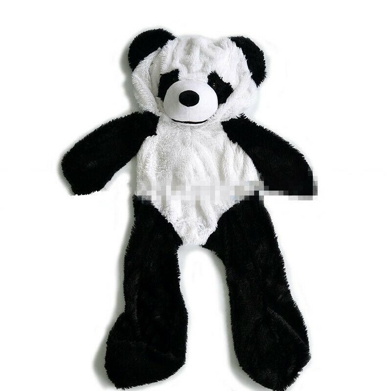 Panda Teddy Bear Plush Soft Toys Doll Shell Skins Without Cotton Skins Animal US Cute Plush