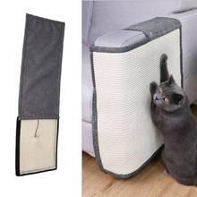 Gato para rascar, alfombrilla de protección para sofá, almohadilla de Sisal con garra para mascotas, suministros para rascar, Protector para muebles de juguete