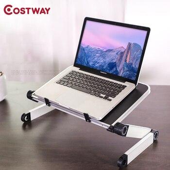 Soporte para ordenador portátil escritorio mesa que se dobla escritorio mesa plegable...