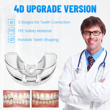 3 Stages Dental Orthodontic Braces Teeth Retainer Bruxism Mouth Guard Teeth Straightener Stop Sleeping Anti-Snoring Device