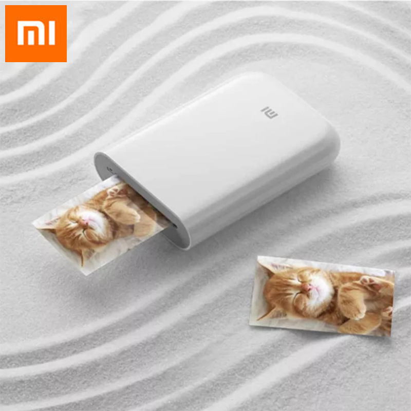 Original Xiaomi Mijia AR Pocket Photo Printer 300dpi Bluetooth 5.0 With DIY Share 500mAh Portable Smart Printer With Mijia APP
