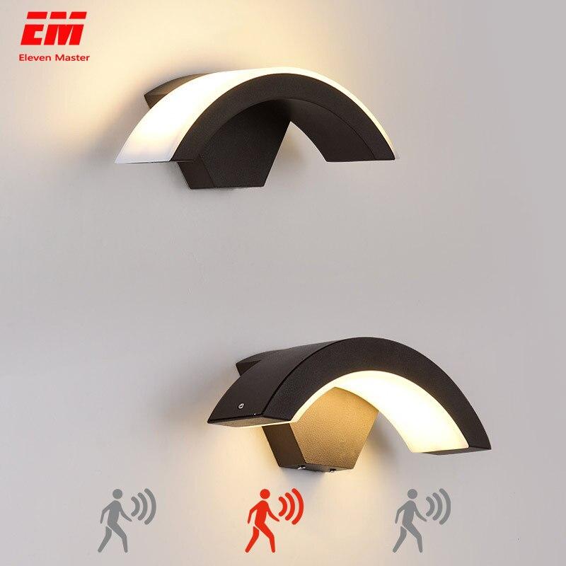 18w LED Outdoor Waterproof Walkway Front Door Garden Porch Wall Light Modern Indoor Corridor Wall Lighting Light Fixture ZBW0013