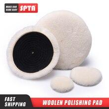 SPTA 3M Wool Polishing Pad Polishing and Self-adhesive Wool Disk Wool Burnishing Pad