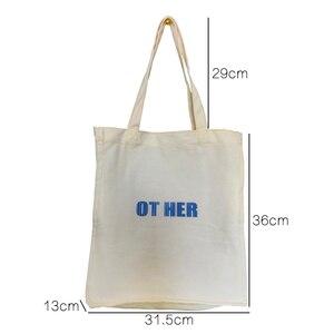 Image 3 - Повседневные сумочки Youda в Корейском стиле, модная холщовая женская сумка, простые летние женские сумки на плечо, литературный тоут для студентов