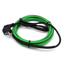 1~10m Water Pipe Heating Snow Melting Self Regulating Electric Heating Cable/Wire Kits with EU Plug Pre assembled