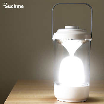 Suchme 2020 Portable Camping Lantern Rechargeable USB Tools Equipment LED Light