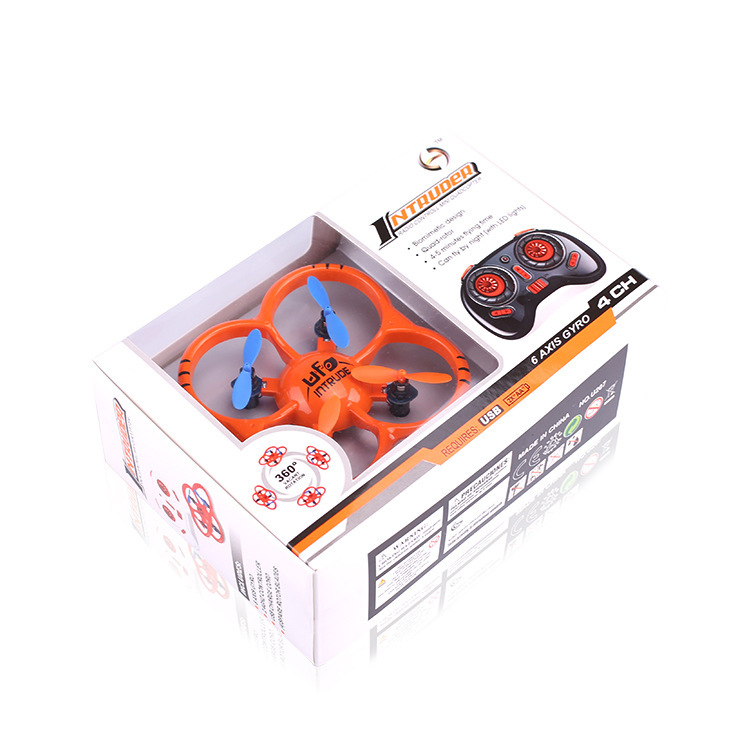 Kai Connaught New Style U207 Remote Control Flying Saucer 2.4G Six-Axis Gyroscope Quadcopter UFO Mini Helicopter