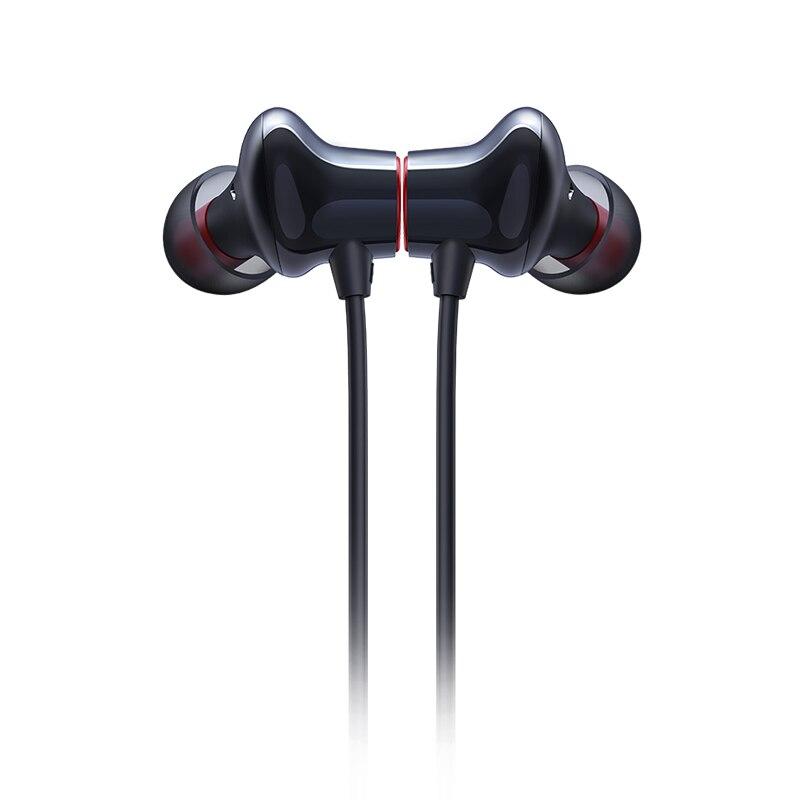 Image 2 - OnePlus Bullets Wireless 2 Bluetooth AptX Hybrid In Ear Earphone  Magnetic Control Mic Fast Charge For Oneplus 7T Oneplus 7T ProPhone  Earphones