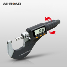 0-25mm/0.01mm Electronic Outside MicrometerDigital Caliper gauge mm/inch Carbide  Measure Tools DIY LCD External Micrometer