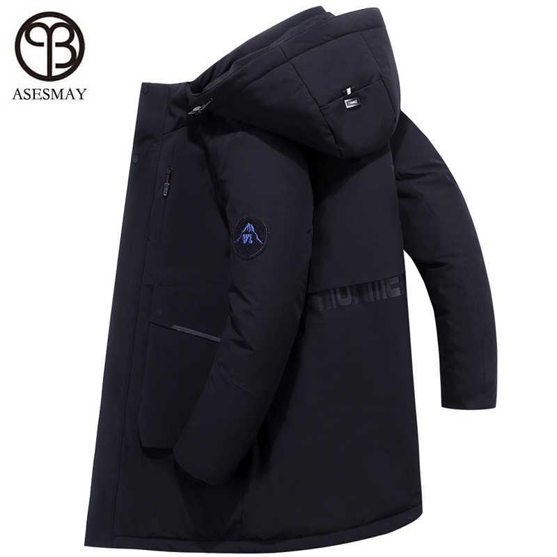 2019 Мужская зимняя пуховая куртка Мужская парка пальто для Европы wellensteyn гусиное перо длинная качественная Толстая теплая непромокаемая верхняя одежда