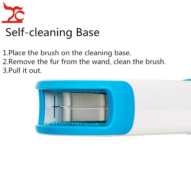 2 Pc/set  Pet Dog Cat Hair Remover Brush Sofa Fur Lint Clothes Removal Cleaning Brush For Free Shipping