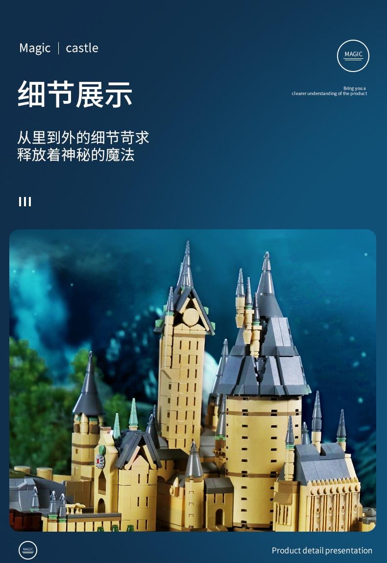 MOULD KING 22004 Hogwarts School
