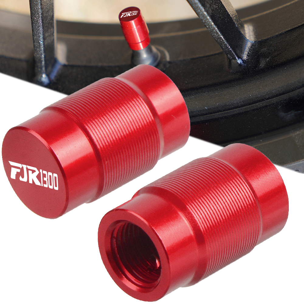 FOR YAMAHA FJR1300 ABS FJR 1300 2004-2017 fjr1300 2014 2015 2016 Motorcycle Couple Vehicle Wheel Tire Valve Stem Caps Covers