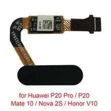 5 шт/лот гибкий кабель с датчиком отпечатка пальца для huawei