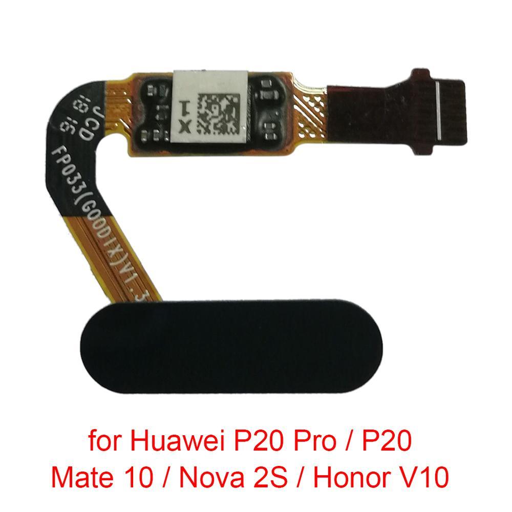 5pcs/lot Fingerprint Sensor Flex Cable For Huawei Ascend Mate 7\P20 Pro\P20\Mate 10\Nova 2S\Honor V10