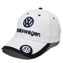 Новинка, бейсболка Volkswagen, авто логотип, вышивка, регулируемая бейсболка с капюшоном, шапка для мужчин и женщин