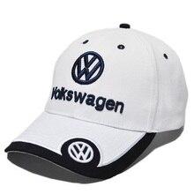 2019 nowy samochód czapka z daszkiem Auto Logo haft regulowana bejsbolówka kaptur kapelusz mężczyzna kobiet