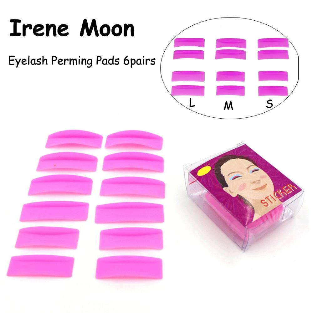 Silicone Gasket Eyelashes Perming Pad Lash Lifting Perming Rods Pink Perming Kit Eyelashes Curling Tools Eyelashes Laminations
