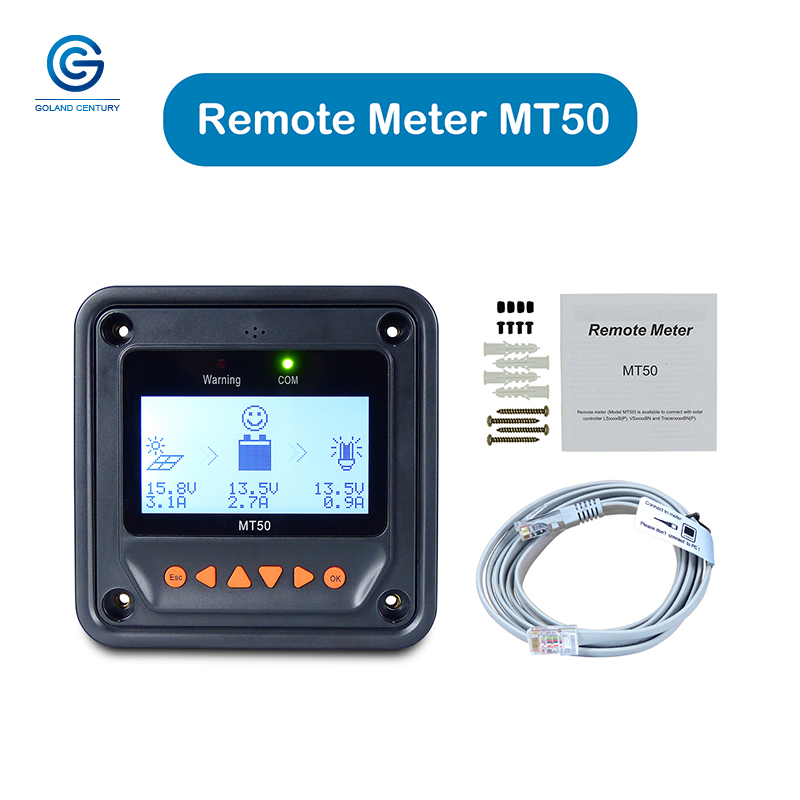 EPever Remote Meter MT50 eBox WIFI Bluetooth Serial Server RS485 for Solar Charge Controller Tracer-AN-BN Triron N VS LS series