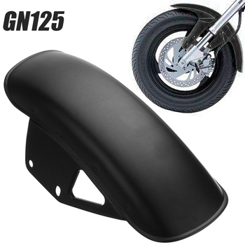 Hot For Suzuki GN125 GN250 1pc Motorcycle Front Fender Dedicated Replacement Mudguard Mud Guard Black Meatal Mayitr